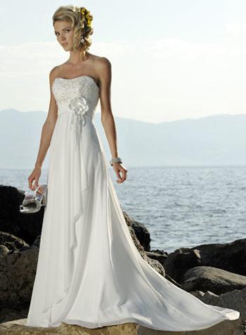 Свадебные платья стиль ампир